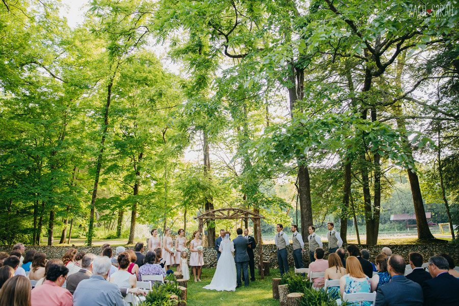 Fillauer Lake House Cleveland Tn Picture Wedding Ceremony